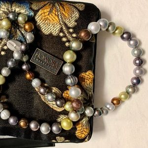 Honora Freshwater Ringed Pearl Necklace